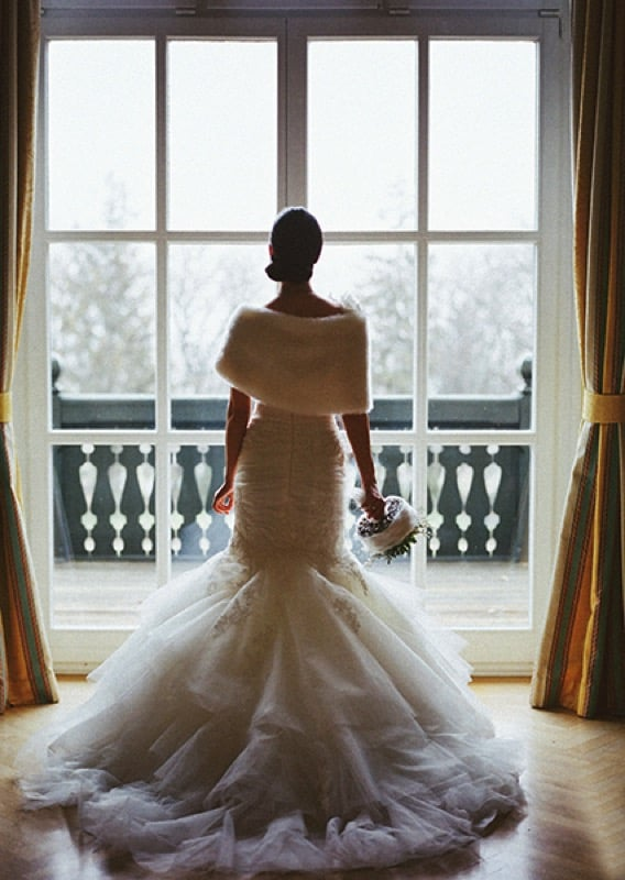 luxury winter wedding
