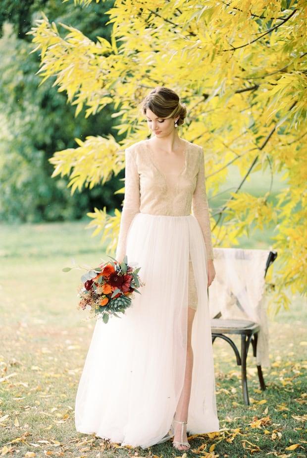autumn leaves-wedding photos